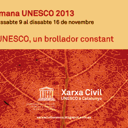 Llibret Setmana UNESCO 2013